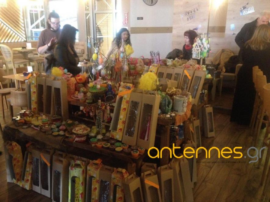 Συγκινητική η προσέλευση των Καστοριανών στο Bazaar για τον Μικρό Νικόλα (ΦΩΤΟ)