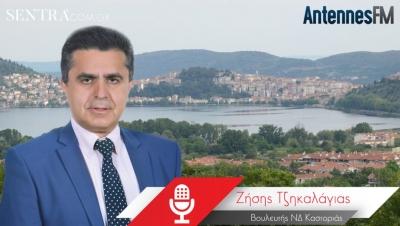 Συνέντευξη: Ο Ζ. Τζηκαλάγιας για Δίκαιη Μετάβαση, υδατοδρόμιο και καυσόξυλα